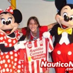 Cinthia Becker, Na Disney, no parque Magic Kingdom