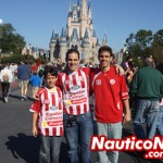 Danilo, Filipe e Miguel no Parque Disney (Magic Kingdom)